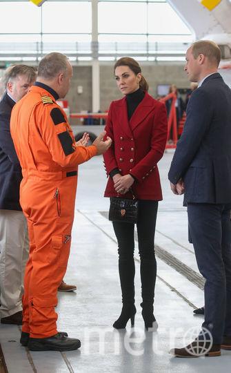 Кейт Миддлтон и принц Уильям посетили Северный Уэльс. Фото Getty