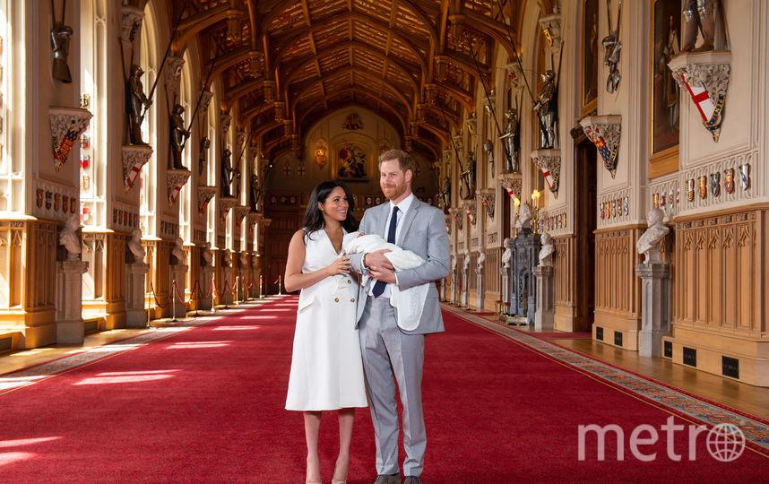 В Виндзорском дворце 8 мая. Фото Getty