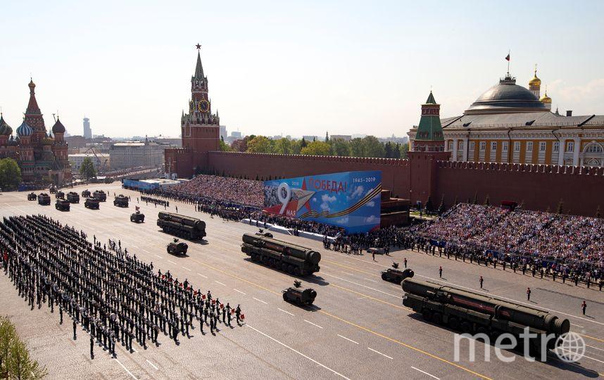 Парад Победы в Москве традиционно пройдёт на Красной площади. Фото AFP