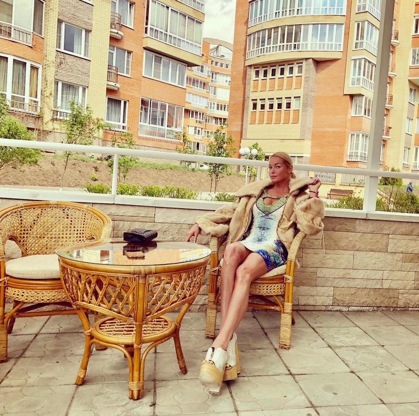 Анастасия Волочкова. Фото скриншот: instagram.com/volochkova_art