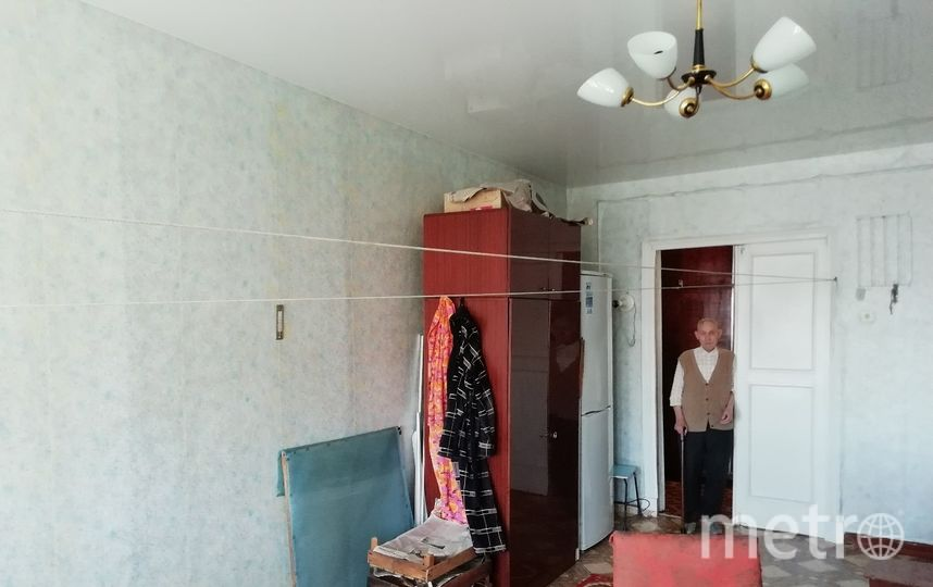 Ремонт ветерану войны Василию Гусеву. То, что было. Фото предоставлено Антоном Савчуком.