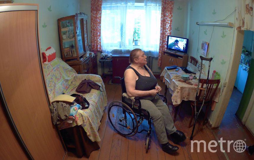 Квартира инвалида первой группы Валентины до ремонта. Фото предоставлено Антоном Савчуком.