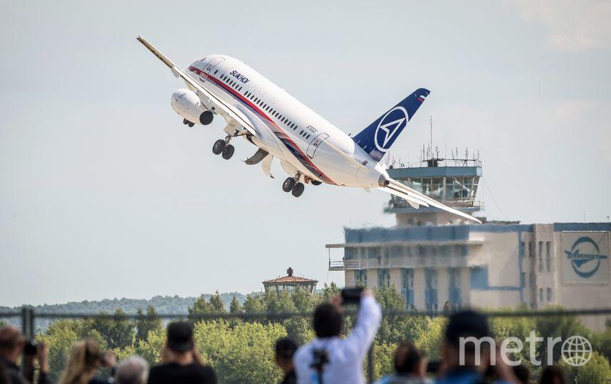 Sukhoi Superjet 100. Фото AFP