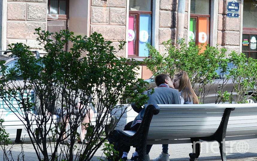 """Скамейки для Петербурга - необходимы. Фото Святослав Акимов, """"Metro"""""""