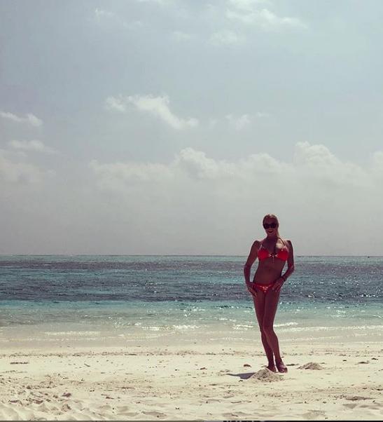 """Это фото Волочковой на Мальдивах были сделаны во время отдыха зимой 2019 года. Фото архив, """"Metro"""""""