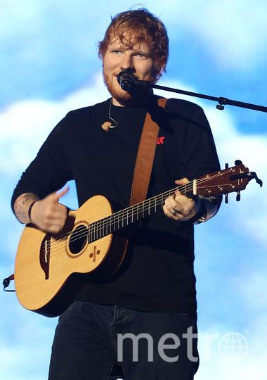 Британский поп-исполнитель Эд Ширан. Фото Getty