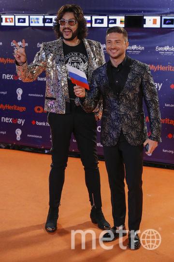 Сергей Лазарев и Филипп Киркоров, Россия. Фото AFP