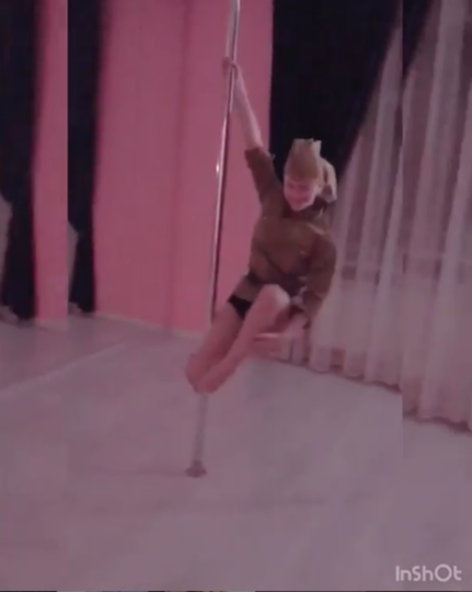 Танец Яковлевой. Фото Скриншот видео Instagram/yakovleva.ksana