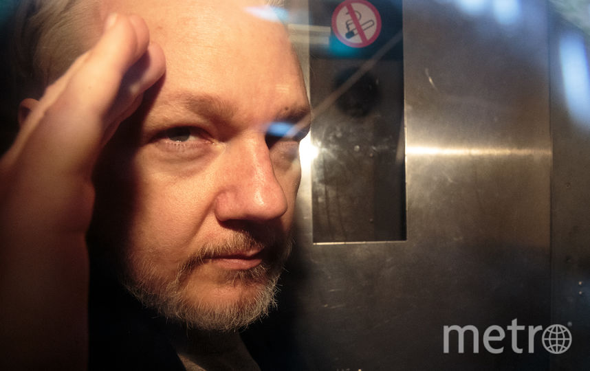 Джулиан Ассанж. Фото Getty