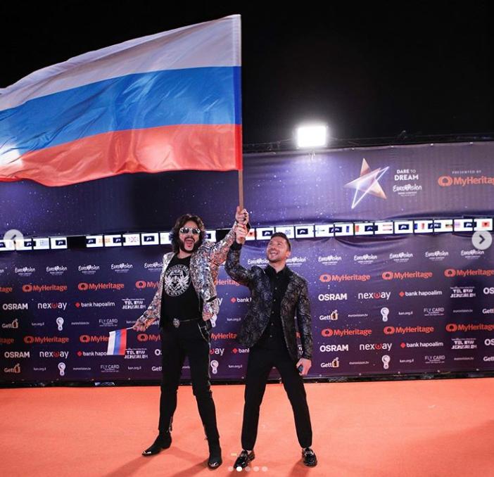 Сергей Лазарев, Евровидение - 2019. Фото скриншот https://www.instagram.com/lazarevsergey/