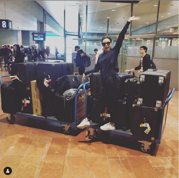Ева Лонгория заявила, что прилетела в Канны с 14 чемоданами. Фото Скриншот instagram.com/evalongoria/
