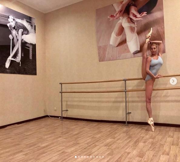 Анастасия Волочкова (архивное фото). Фото скриншот https://www.instagram.com/volochkova_art/?hl=ru