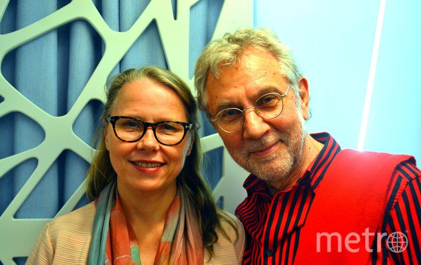 """Виола Фарингер и Ульф Халтберг. Фото Дарья Есенина, """"Metro"""""""