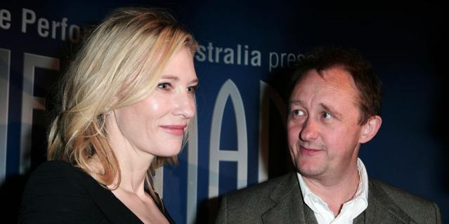Кейт Бланшетт с мужем.