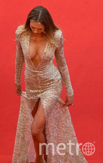 Нидрландская модель Роми Стрейд. Фото AFP