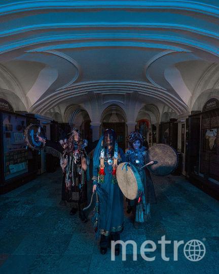 """Ожившие шаманы в музее. Фото предоставлены организаторами, """"Metro"""""""