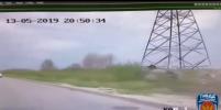 Погоня и авария: видео выложили петербургские полицейские