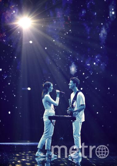 Словению представляет дуэт Залы Краль и Гашпера Шантла. Фото AFP