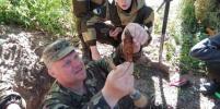 Поисковики из Бурятии подняли останки более 65 воинов