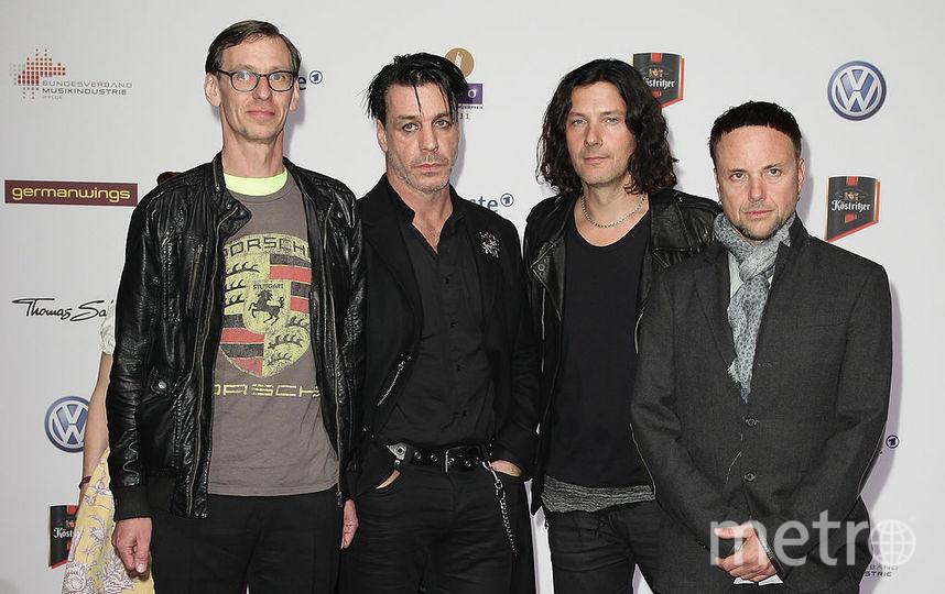 Немецкая метал-группа Rammstein. Фото Getty