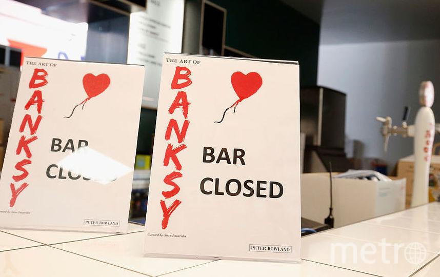 Работы Бэнкси. Фото Getty