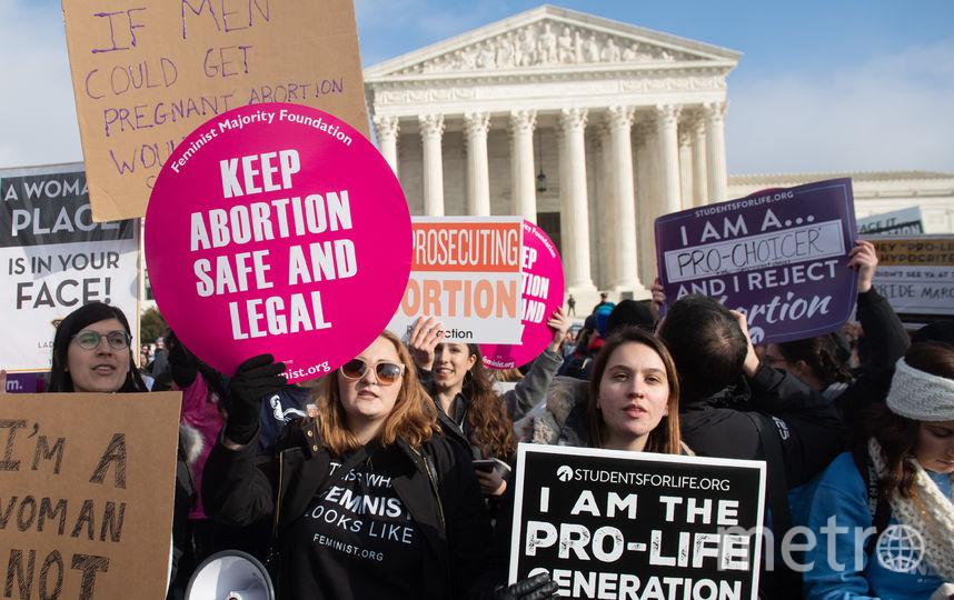 В американском штате Алабама сенаторы одобрили закон, практически полностью запрещающий аборты. Архивное фото. Фото AFP