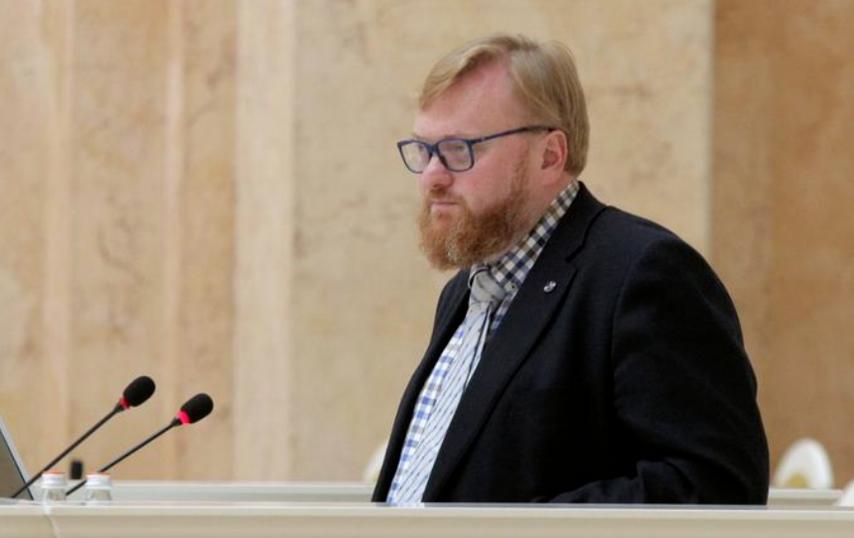 Виталий Милонов. Фото  пресс-служба Законодательного Собрания Санкт-Петербурга