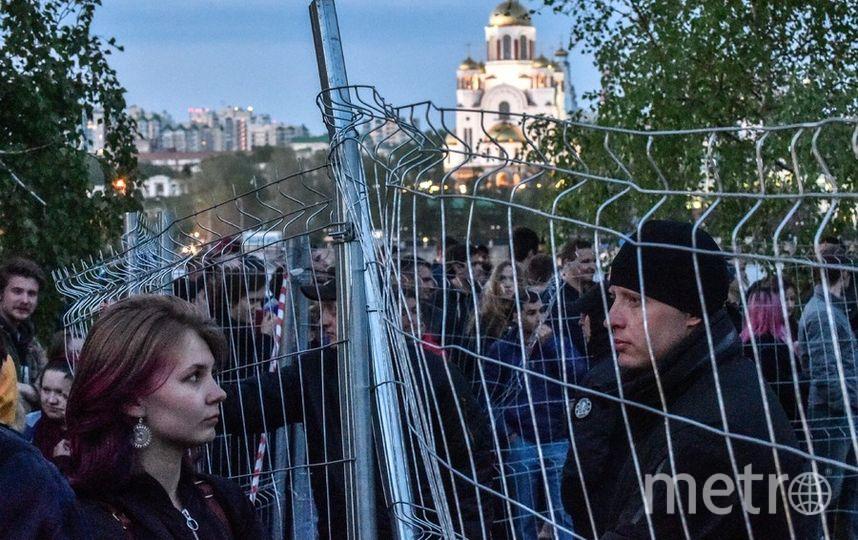 В Екатеринбурге суд арестовал задержанных на митинге против строительства храма. Фото AFP