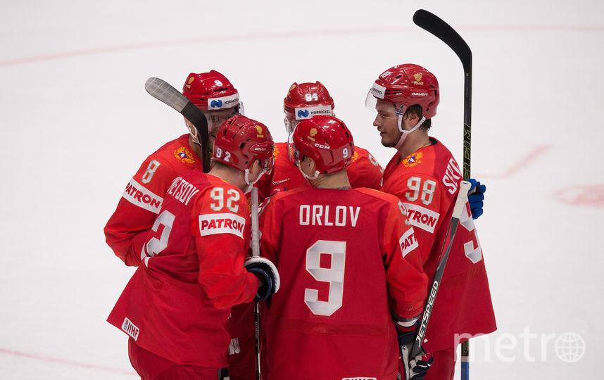 Сборная России по хоккею разгромила итальянцев на чемпионате мира. Фото AFP