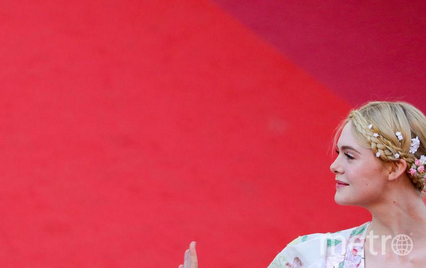 Канны-2019. Красная дорожка. Эль Фаннинг. Фото Getty