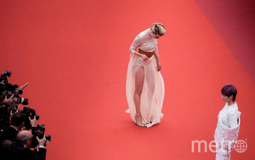 Канны-2019. Красная дорожка. Эмбер Хёрд. Фото Getty