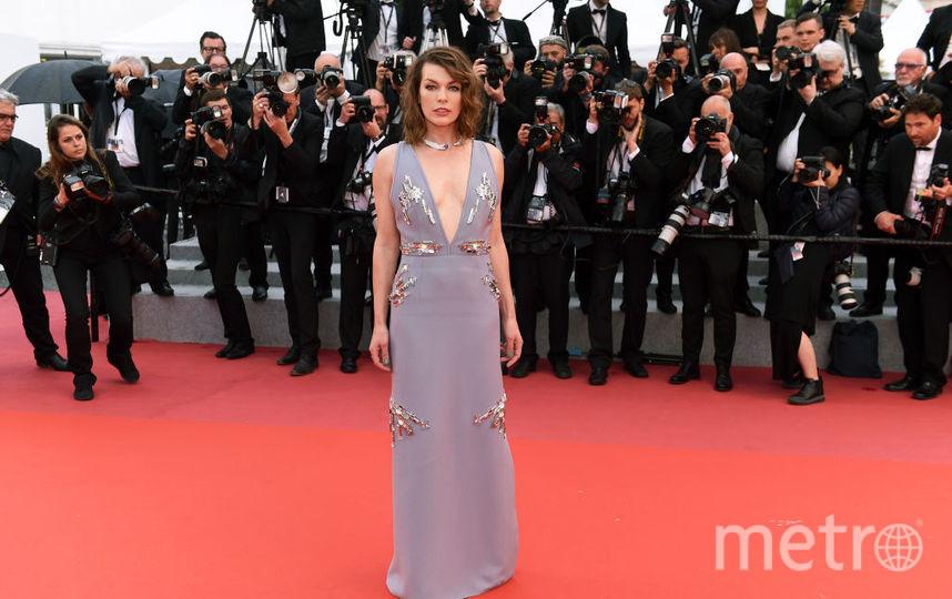 Американская актриса Милла Йовович. Фото Getty