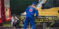 Под Тосно иномарка ударилась об автобус и опрокинулась: серьёзно пострадал ребёнок