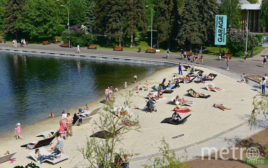 Всего в столице 12 купальных зон, две из которых реконструируются. Фото Василий Кузьмичёнок