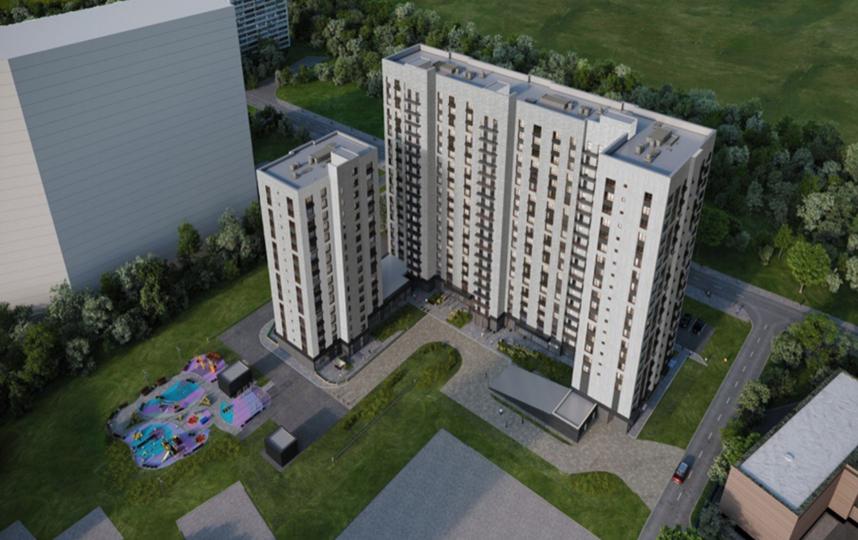 Проектное решение. Фото Скриншот stroi.mos.ru