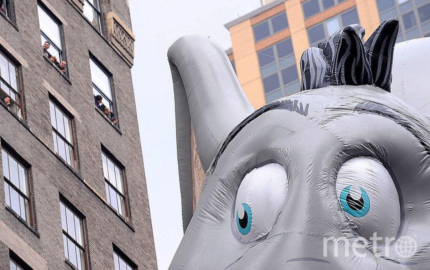 """Надувной слон простоит в парке """"Кузьминки"""" до начала августа. Фото Getty"""