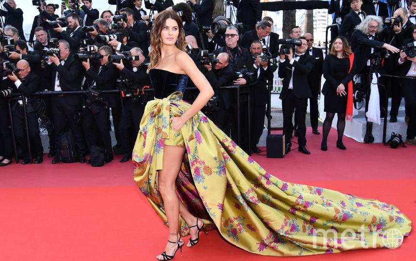 Бразильская модель Изабели Фонтана. Фото AFP