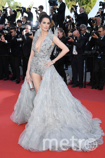 Фредерик Бель, французская актриса. Каннский фестиваль - 2019. Фото Getty