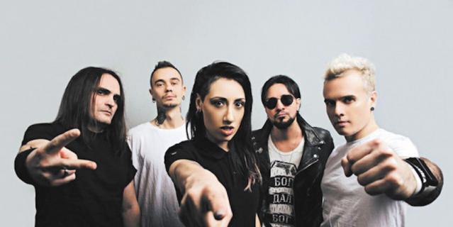 Российская рок-группа LOUNA.