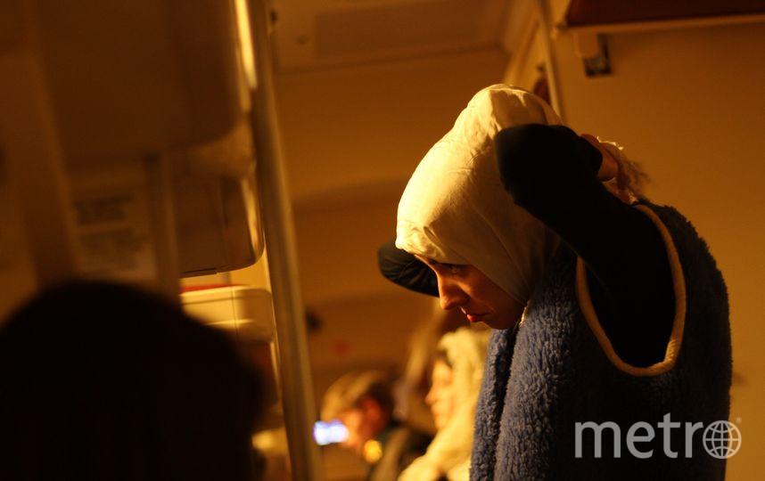 """Благодаря фонду «Культурное пространство» для спектакля выделили целый вагон. Фото  Айгуль Нургалиева, """"Metro"""""""