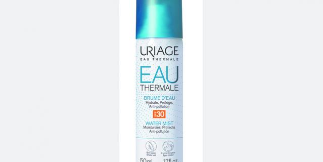 Увлажняющая дымка-спрей Uriage Eau Thermale SPF30.