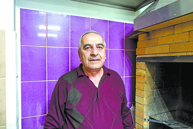 Самвел Антонян, владелец кафе Amata-pizza в Балашихе.