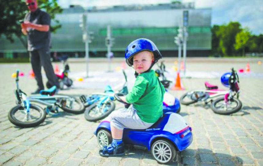 На фестивале Metro Family Day в Москве детям и взрослым будет, чем заняться. Фото предоставлено BMW Group Russia