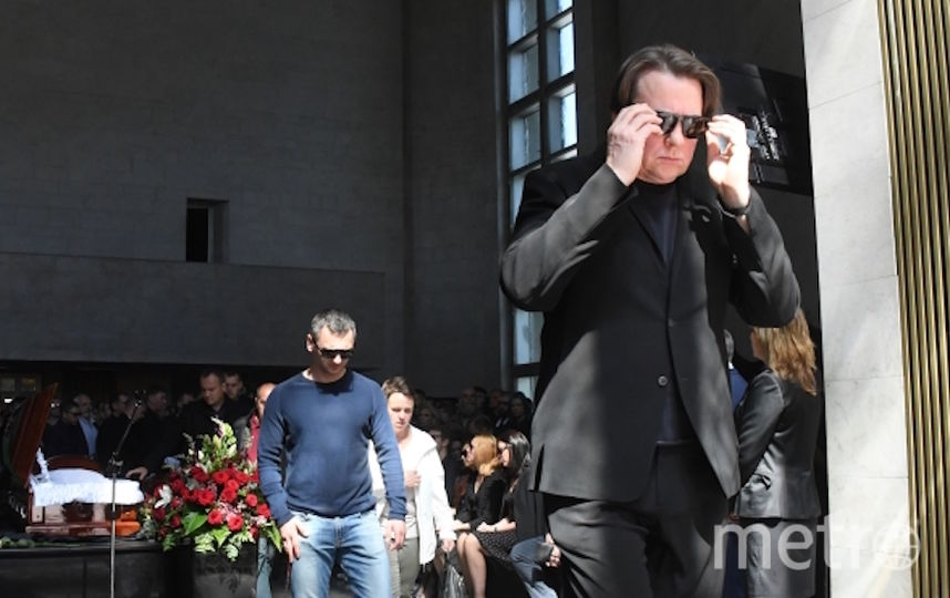 Гендиректор Первого канала Константин Эрнст на церемонии прощания с Сергеем Доренко. Фото РИА Новости