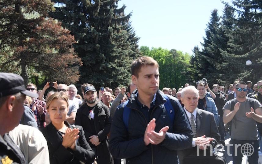 Доренко проводили в последний путь аплодисментами. Фото РИА Новости