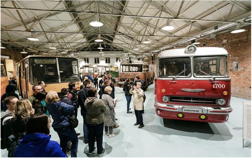 Ночь музеев: такие автобусы – хороший повод вспомнить детство. Фото vk.com/retro_bus, vk.com