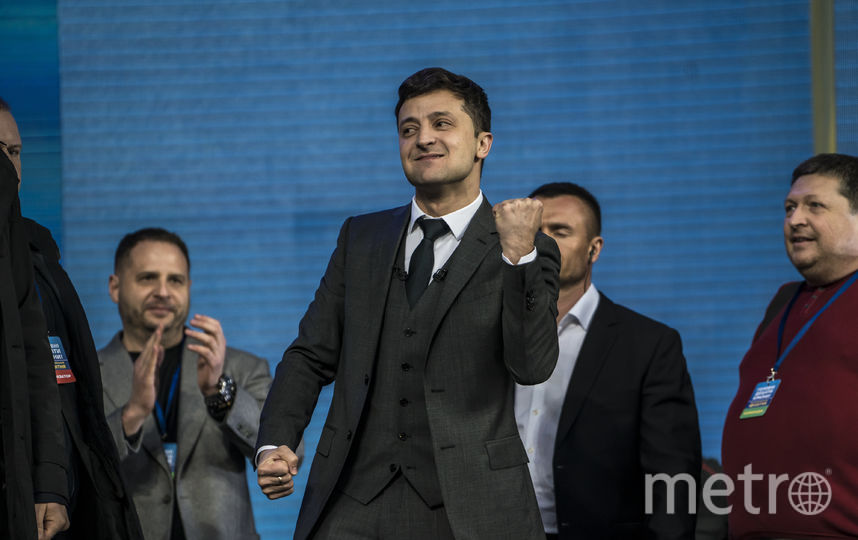 Избранный президент Украины Владимир Зеленский. Фото Getty