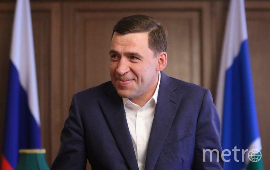 Губернатор Свердловской области Евгений Кувайшев. Фото gubernator96.ru
