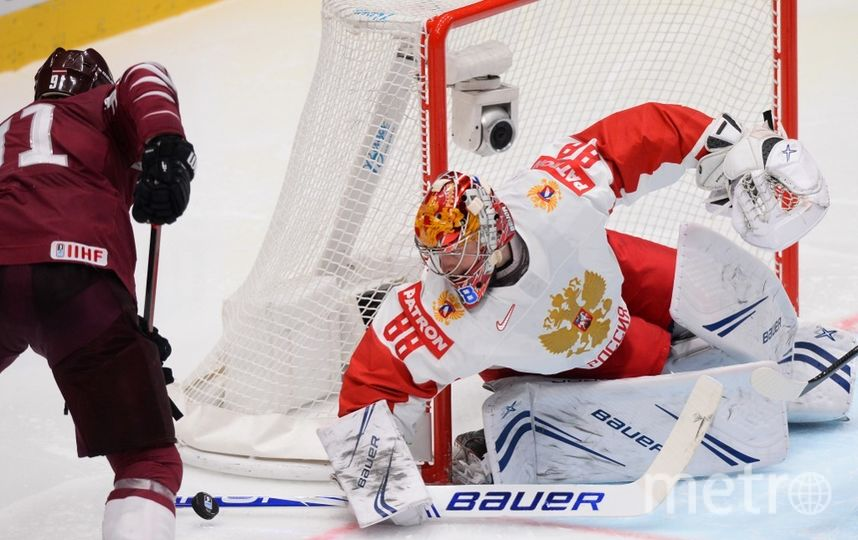 Чемпионат мира по хоккею – 2019. Матч Латвия – Россия. Фото AFP