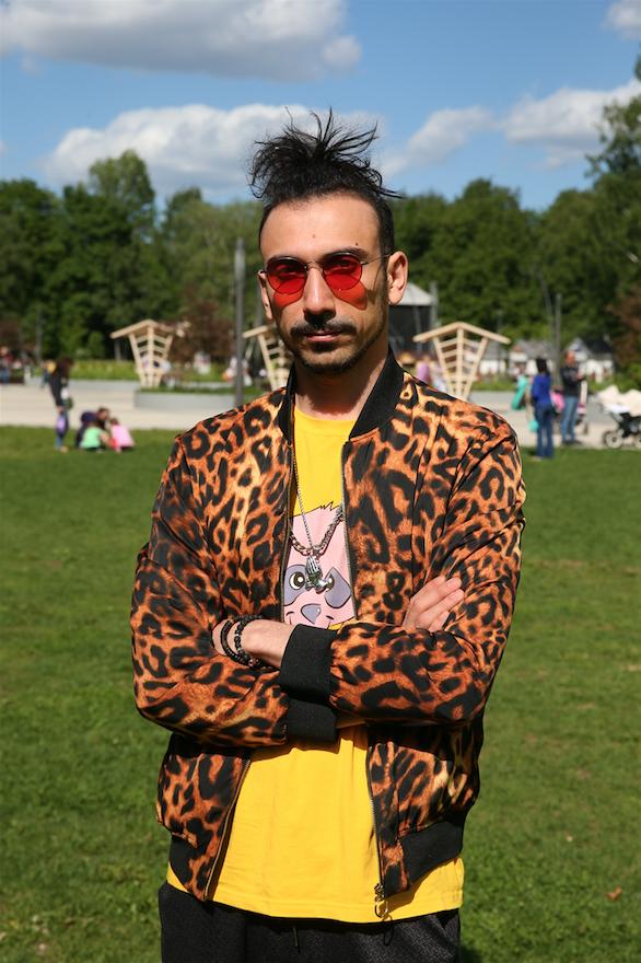 Михаил Цатурян, художник. Фото Василий Кузьмичёнок